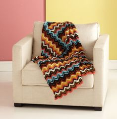 Bello Ripple Throw Freebie, only two rows to learn! thanks so Lion xox