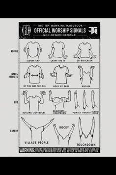 Official worship signals tim hawkins handbook this for Domon emilie