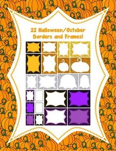 "FREE LESSON - ""22 Halloween/October Borders and Frames!"" - Go to The Best of Teacher Entrepreneurs for this and hundreds of free lessons.  #FreeLesson     #Halloween   http://www.thebestofteacherentrepreneurs.net/2012/10/free-misc-lesson-22-halloweenoctober.html"