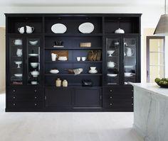 Black China Cabinet | photo Michael Graydon | House & Home
