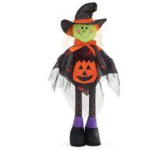 Add this cute Standing Witch from #burtonandburton to your Halloween decorations! #halloween