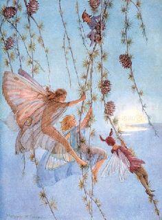faeries swinging
