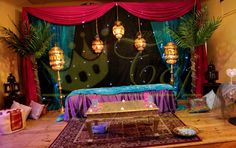 Stage pakistani wedding