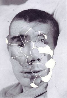 100% Hand-made collages by Iranian Artist Ashkan Honarvar. S)