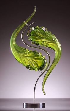 Art Glass   by Kerrick Johnson   via Granet Design