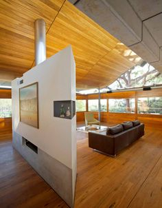 If It's Hip, It's Here: Australia's Award-Winning Angophora House has awild interior with lots of cool things  (25 Photos at the link).