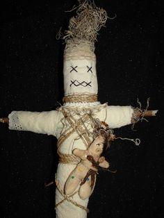 Hoodoo Magick Rootwork:  #Voodoo #Doll.