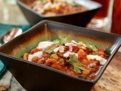 As seen on Southern at Heart: Chili