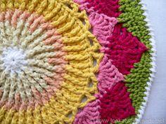 Protea Mandala 10 King Protea Mandala  {Another Crochet Mandala}