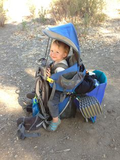 5 Tips to Transition into Taking a Toddler Backpacking - great ideas for camping with kids!