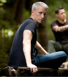 anderson cooper, favorit peopl, silver foxes, hot, admir, men, famous peopl, celebr, thing