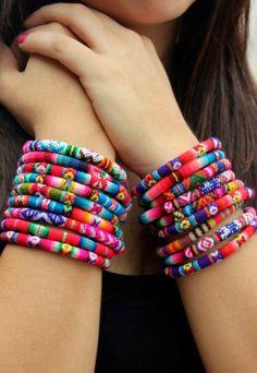 Peruvian Bracelet by KusiPeru on Etsy. $10.00, via Etsy.