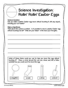 easter scienc, 2nd grade