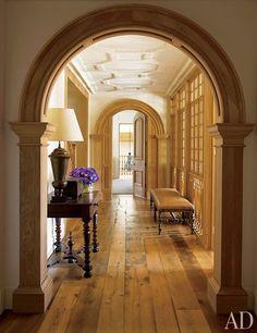 Love the rounded archways.