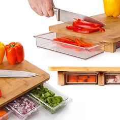 (99+) Mocubo Cutting Board with Built-In Storage by Quirky from Quirky on OpenSky