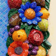 By San Francisco mosaic artist, Karen Thompson.