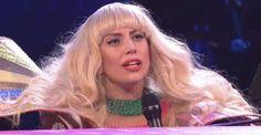 Presentación de Lady Gaga en Saturday Night Live