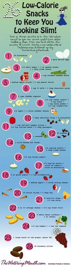 26 Low Calorie Snacks to Keep You Looking Slim!
