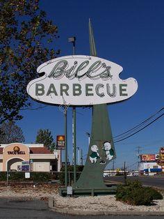 Bill's Barbecue, Richmond, Virginia