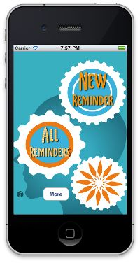 Our free app - helps you remember the important stuff.