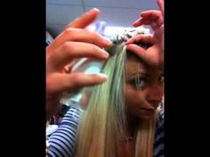 ... -Dark Ash Blonde to Light Blonde - Russian Tape Hair Extensions