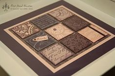 Stampin' UP! Inchies lila