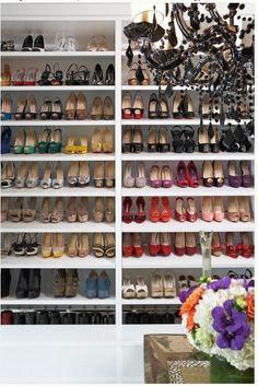 Dream Shoe Closet! One Day... #matildajaneclothing #mjcdreamcloset