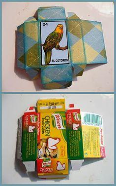 a simple way to make a cute box
