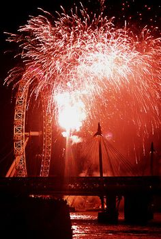 New Year's Eve, London
