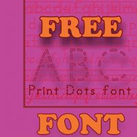 "FREE LESSON - ""Free ABC Print Dotted Font"" - Students trace letters using the dotted font. Go to The Best of Teacher Entrepreneurs for this and hundreds of free lessons.   PreKindergarten - 3rd Grade   #FreeLesson   #TeachersPayTeachers   #TPT    http://www.thebestofteacherentrepreneurs.net/2013/01/free-misc-lesson-free-abc-print-dotted.html"