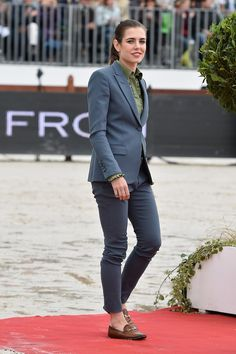 beautifulcharlotte:  Charlotte Casiraghi attended the Paris Eiffel Jumping, Paris, France, July 6, 2014