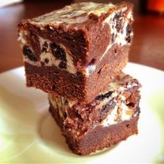 "Chunky cheesecake Brownies | ""Excellent! Made it for a bake off and won!"""