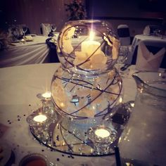 Centre pieces #wedding