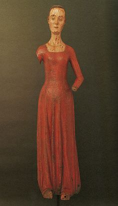Wooden Effigy of Queen Catherine of Valois,died in 1437