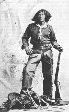 The black cowboy played a HUGE role in taming the west. They were not looked upon unfavorably, that was left to the Native Americans.