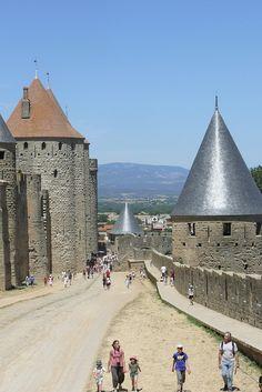 Carcassonne Round Cake