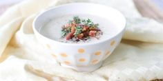Roasted Cauliflower Soup with Bacon and Thyme | canada.com