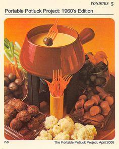 Portable Potluck Project - 1960s Edition Recipe Card by Marshall Astor - Food Fetishist, via Flickr