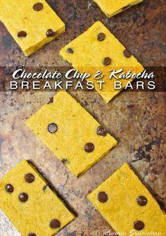 Chocolate Chip and Kabocha Bars