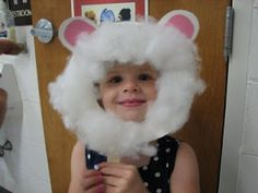 Lots of paper plate animal masks - lamb, dog, frog, cat, pig, lion, cow, bear, bird