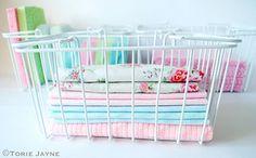 Basket of dusters by Torie Jayne