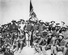 Roosevelt & Rough Riders