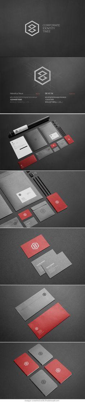 Creative Brand Design corporate business card identity