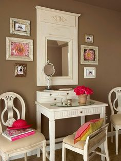 Wall color with ivory !