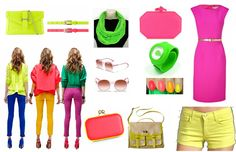 here are some more neon colors for you to feast on.