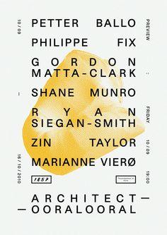 architect, poster