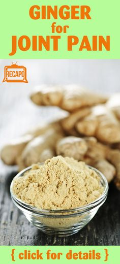 Need an all-natural way to relieve pain? Dr Oz says powdered ginger can help get rid of inflammation and joint pain. Check out the other pain relief tips!