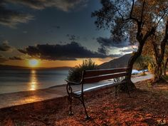 Nice place to sit and watch the sun slip slowly out of sight.