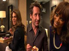 "Celebs Take Our ""Food Quiz"" Backstage"