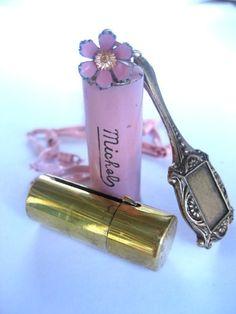 1940s lipstick case...